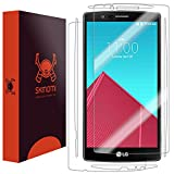 LG G4 Screen Protector + Full Body, Skinomi TechSkin Full Coverage Skin + Screen Protector for LG G4 Front & Back Clear HD Film