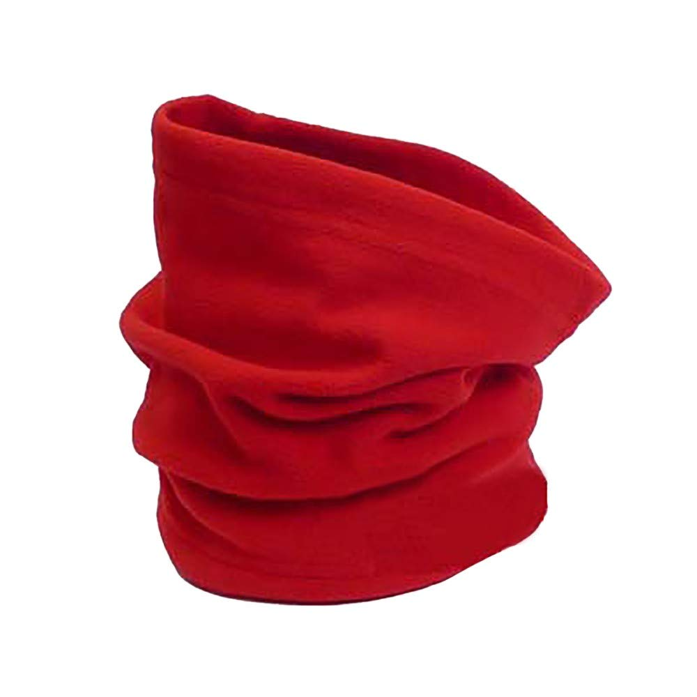 Toaimy Scraf Men'S And Women'S Multifunction Fleece Riding Windproof Snood Neck Warmer Mask Bib Hat