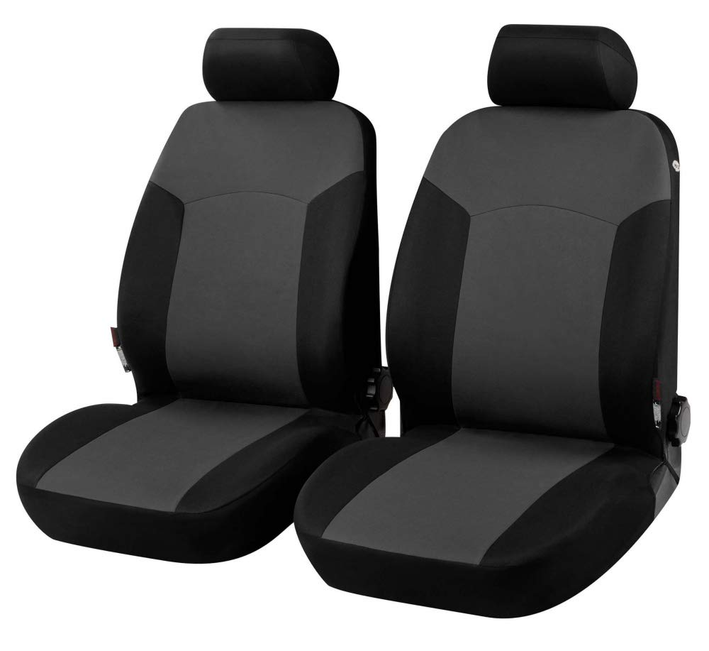 compatibili con sedili con airbag con Fori per i poggiatesta e bracciolo Laterale 2007 - in Poi Coprisedili Anteriori BIPanteriori Versione