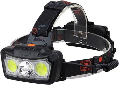 Linterna Frontal Accesorio Antorcha de Camping ajustable faro ...