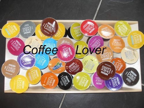 Nescafe Dolce Gusto Coffee Pods Capsules COMPLETE COLLECTION 32 FLAVOURS = 44 PODS by Nescafe Dolce - Collection Capsule