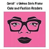 Retro Oprah Style Square Reading Glass Big Eyeglass
