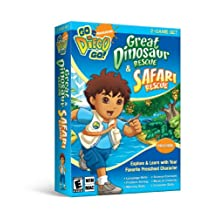 Go Diego Go 2-Game Set with Great Dinosaur & Safari Rescue - Standard Edition
