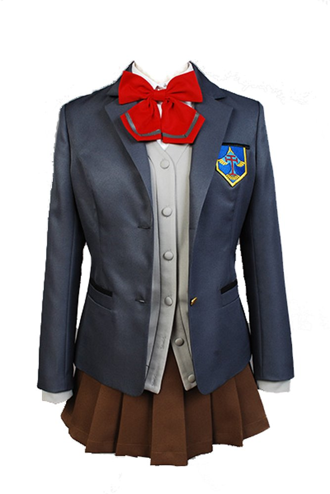 Free  Iwatobi Swim Club Kou Matsuoka Iwatobi High School Uniform Cosplay Kostüm Damen XXL B01EYBF91U Kostüme für Erwachsene Moderne und elegante Mode    | Quality First