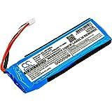 (US) Battery Compatible with JBL Flip 3, JBLFLIP3GRAY Part NO GSP872693, P763098 03