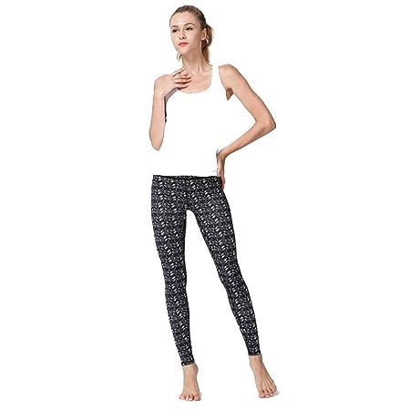 Mujer Pantalón de chándal con puños Yoga Pantalones Europa y los ...