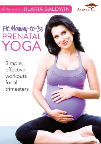 @ Home with Hilaria Baldwin: Fit Mommy-to-be Prenatal Yoga
