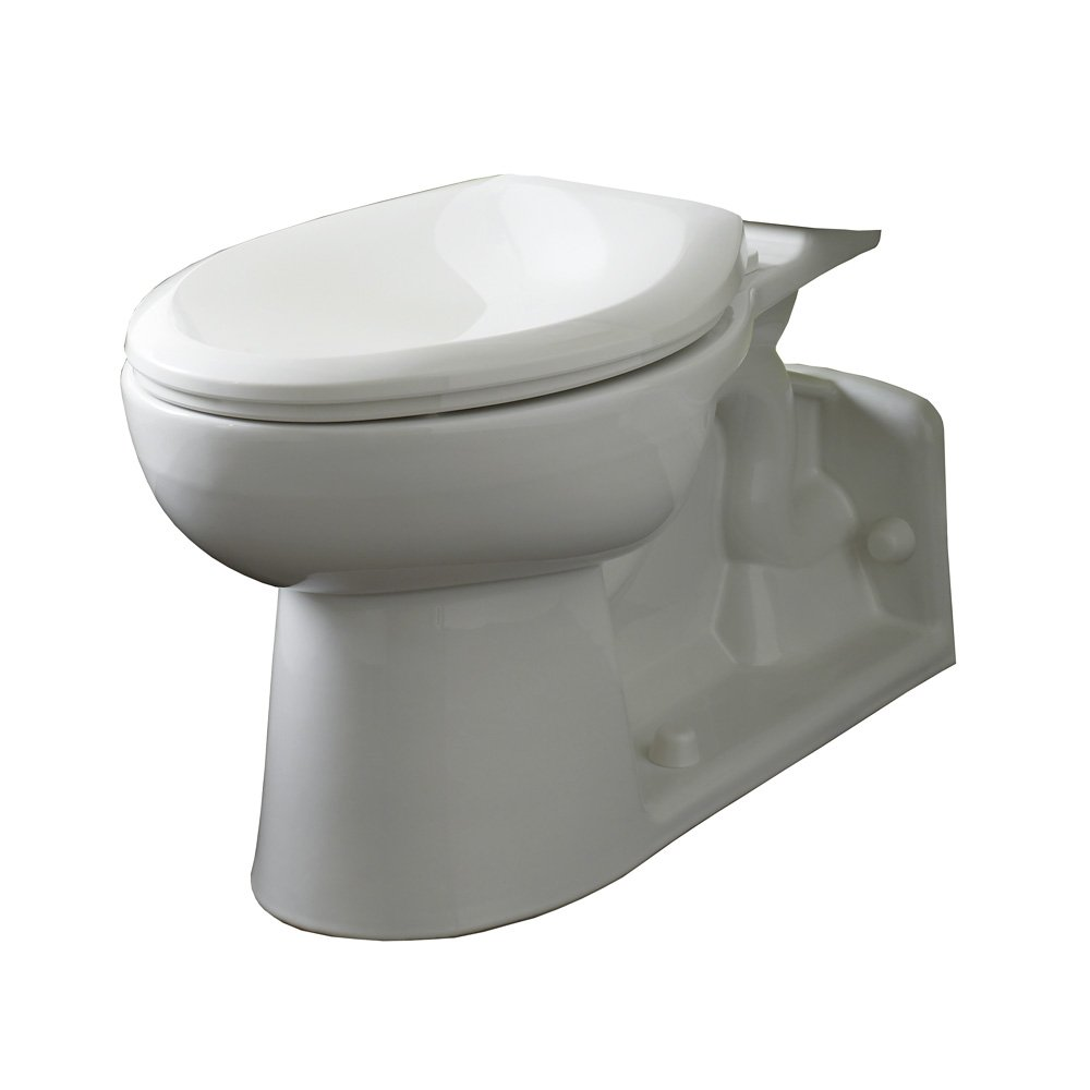 American Standard 3703.001.020 Yorkville Right Height Elongated Pressure Assisted Two Piece Toilet, White