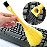 Window Blinds Keyboard Cleaner Brush, Upgraded Multi-Function Double-end Clean Tools