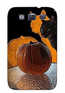 Ideal Trinalgrate Case Cover For Galaxy S3(pumpkin ), Protective Stylish Case