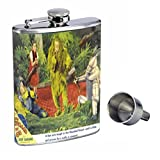Judy Garland 1939 Wizard Of Oz Perfection In Style 8oz Stainless Steel Whiskey Flask with Free Funnel D-213