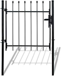 ALEKO DWGP3X5 DIY Steel Pedestrian Gate Kit Athens Style 3 x 5 Feet