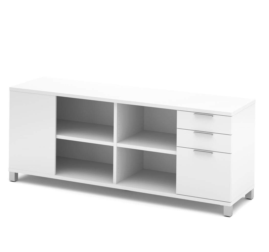 Bestar Credenza with Three Drawers - Pro-Linea