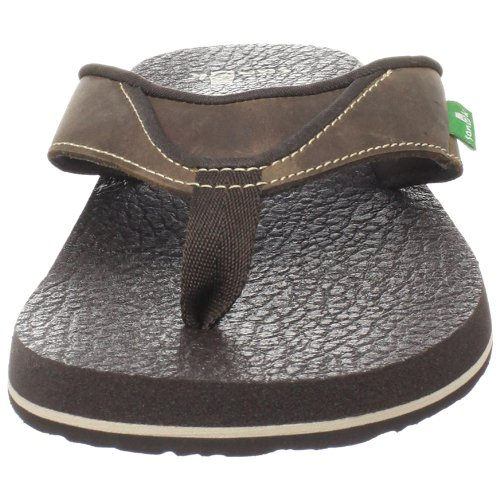 Cozy Primo Brown Sanuk Flip Beer Men's Flop 1qxTfE