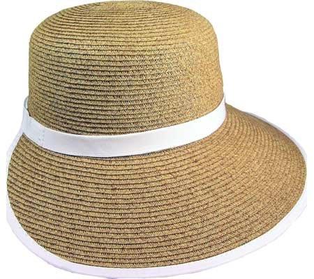 c1c61473388 Cappelli Women s Paper Braid Face Saver Hat