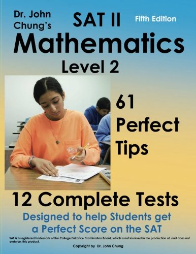 SAT II  Mathmatics level 2: Designed to get a perfect score on the exam.