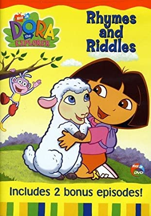 Amazon Com Dora The Explorer Rhymes And Riddles Fatima Ptacek