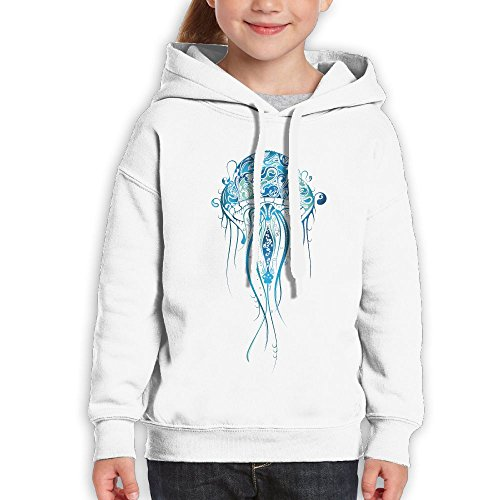 Boys&girls Jelly Fish Pullover Hoodies Sweats