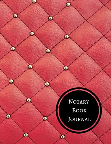 Notary Book Journal: Notary Log