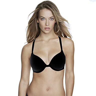 edee7a0a492 Dominique Talia Front-Close T-Shirt Bra at Amazon Women s Clothing store
