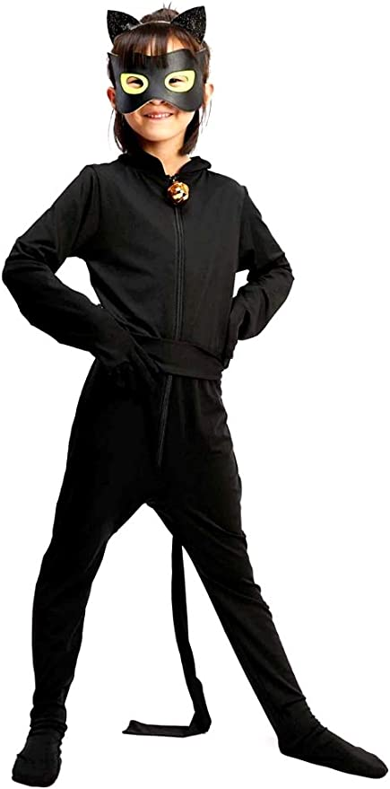 Disfraz de chat noir - niños - carnaval - halloween - cosplay ...
