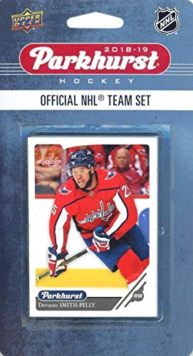 Washington Capitals 2018/19 Upper Deck Parkhurst NHL Hockey EXCLUSIVE Limited Edition Factory Sealed 10 Card Team Set including Alexander Ovechkin, Nicklas Backstrom & all the Top Stars & RCs!WOWZZER