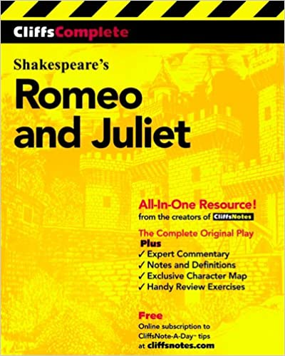 Amazoncom Cliffscomplete Romeo And Juliet  William  Amazoncom Cliffscomplete Romeo And Juliet  William  Shakespeare Books