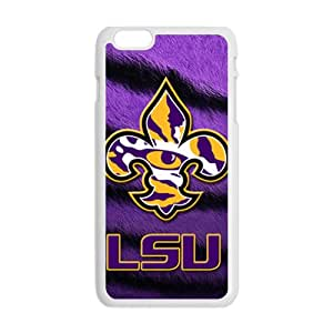 LSU cartoon lovely pet Cell Phone Case for Iphone 6 Plus