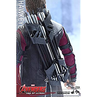 Disney Hot Toys 1:6 Scale Avengers Age of Ultron Hawkeye Figure: Toys & Games