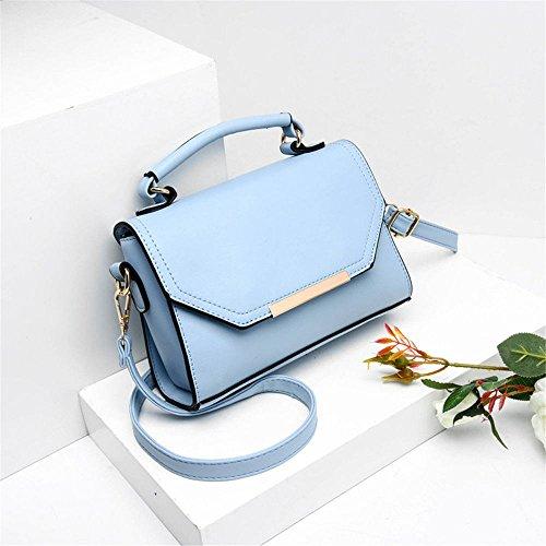 Summer Lady'S Single Shoulder Slant Bag Fashion Handbag,Blue,23X17X7Cm by SJMMBB (Image #1)