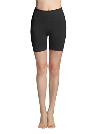 959067ba30a32 Lotus Instyle High Waist Compression Sports Fitness Tights Running Shorts  for Women: Amazon.co.uk: Clothing