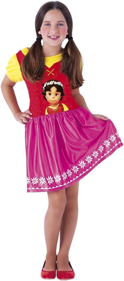 Rubies S8390-S Heidi - Disfraz infantil, talla S: Amazon.es ...