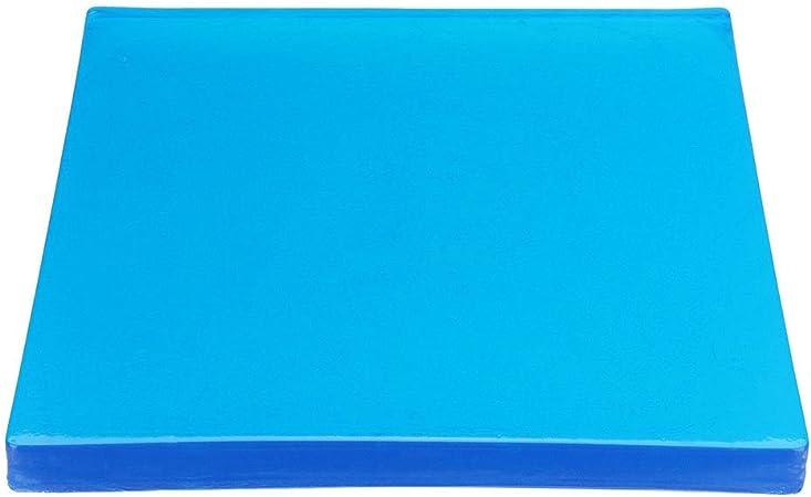 Promenade pour les passagers Tapis r/ésistant aux chocs Bricolage de moto Coussinet en gel pour selle de moto Coussinet doux Accessoires de 25/x 25/x 1//2/cm Tapis bleus confortable