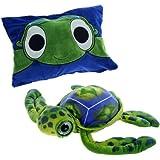 Fiesta Peek-a-Boo Plush 18'' Big-Eyed Turtle
