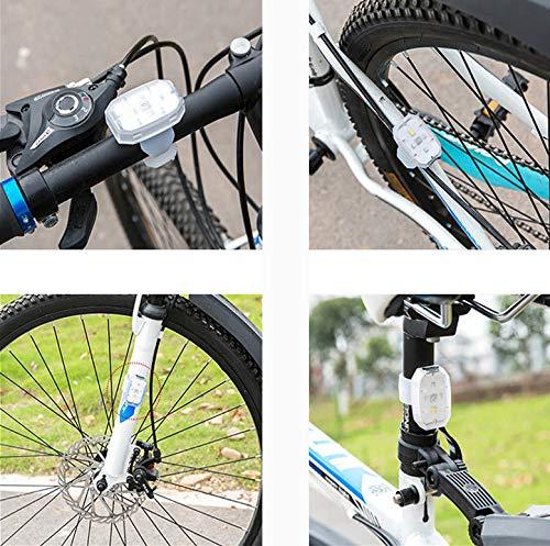 WENSY Bright outdoor LED lights, flashlights, LED Bicycle Safety Light Flashlight Ideal for Ru Bike light