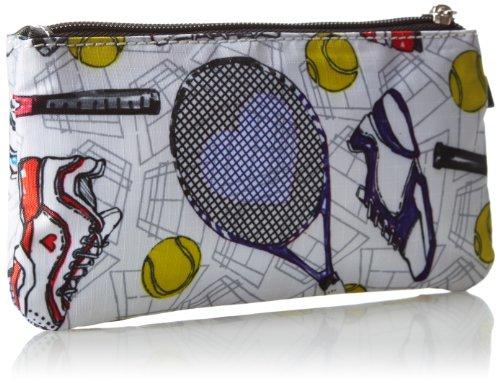 Sydney Love Tennis Double Zip Wristlet Clutch,Multi,One Size by Sydney Love (Image #2)
