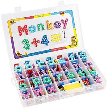 Amazon.com: BabyNoah Magnetic Alphabet Letters Kit with