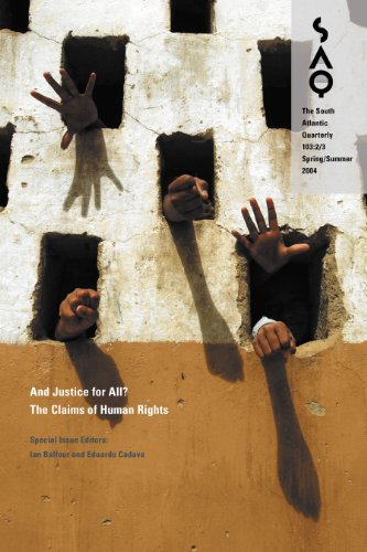 And Justice for All?: The Claims of Human Rights