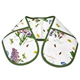Botanic Garden Oven Glove, Cotton Multi-Colour, 88 x 18 x 1 cm