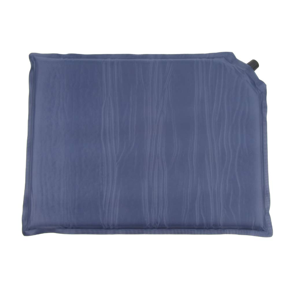 IPOTCH 2Pcs Self-Inflating Seat Cushion Portable Camping Picnic Garden Mat with Storage Bag 40x30x3cm