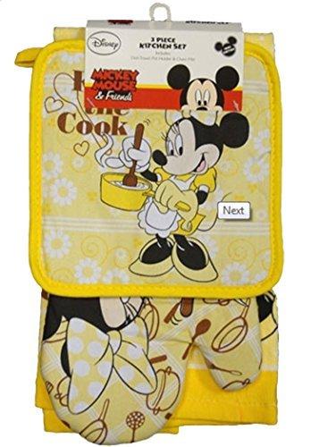Disney Kiss (Disney Kiss the Cook Minnie Kitchen Towel Set [3-Piece Set])