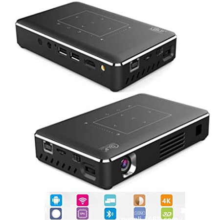 TOL MY Proyector Inteligente, Android HD DLP Mini Smart Mini ...
