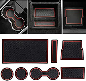 Sweepstakes: Jaronx 7PCS Center Console Cup Holder Liner…