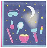 Cocktail Napkins - 150-Pack Luncheon Napkins, Disposable Paper Napkins Slumber Party Supplies for Sleepovers, 2-Ply, Unfolded 13 x 13 Inches, Folded 6.5 x 6.5 Inches
