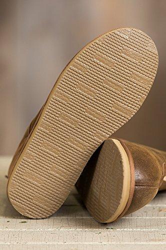 Pantofole Da Uomo In Pelle Merino Australiano Overland Gunner