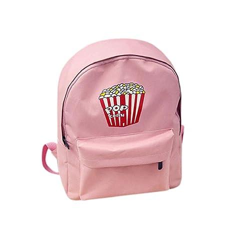 mochilas escolares juveniles - Sannysis pequeño bolsos de mujer verano (rosa)