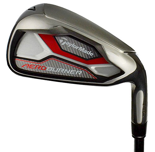 Line Performance Taylormade (Taylor Made Products Aero Burner Hl Irons - Approach Wedge Reax, 90 Steel Stiff Left)