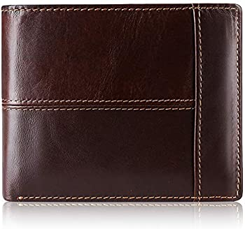 Swallowmall RFID 16 Card Holders Leather Bifold Wallets