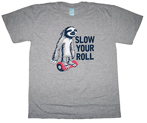 Boy'S Slow Your Roll Sloth Animal Shirt (Large) -