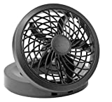 "PC Hardware : O2 Cool 1123 Folding Portable USB or Electric Fan, 5"", 1 Speed (Assorted color)"